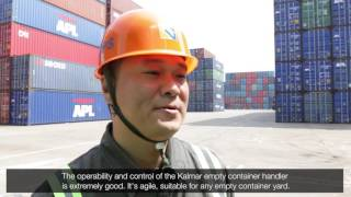 Kalmar Empty Container Handlers At Beilun International Container Terminal