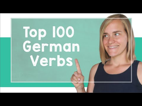watch German Lesson (106) - The Top 100 German Verbs - A2