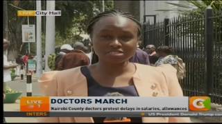 Doctors claim some of them have not been paid since December