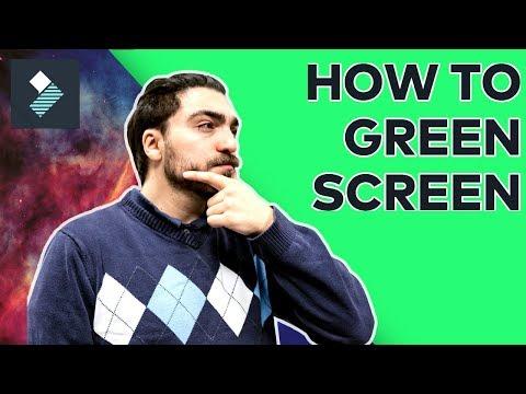 Xxx Mp4 How To Use A Green Screen Filmora Tutorial 3gp Sex