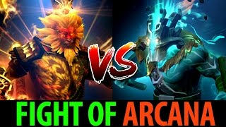 Juggernaut vs Monkey King- Fight of Arcana [Dota2] Moo vs Lanaro (the Bladeform Legacy)