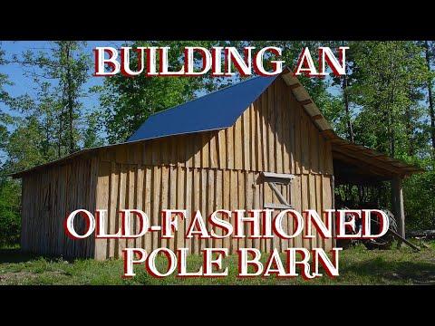 Xxx Mp4 Building An Old Fashioned Pole Barn Pt 6 The Farm Hand 39 S Companion Show Ep 12 3gp Sex