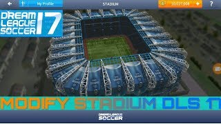 Dream League Soccer 17 Modify Stadium [Hack]