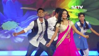 DJ sonica Aashona – Borbaad Movie song Satv Eid Dance Program 720p BDMusic420 Com