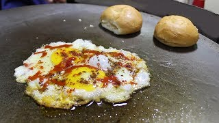 BEST EGG HALF FRY & OMELETTE | Egg Street Food in India | Street Food Unlimited
