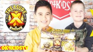 Digging for Treasure -Treasure X Legends of Treasure 3-Pack ok4kidstv video 247