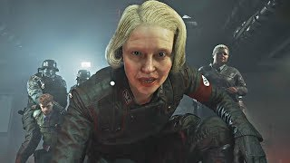 WOLFENSTEIN 2 THE NEW COLOSSUS GAMEPLAY TRAILER REACTION (E3 2017)