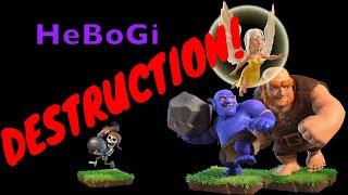 How to use HEBOGI attack (Healer Bowler Giant) 86 Subscriber Spectacular!