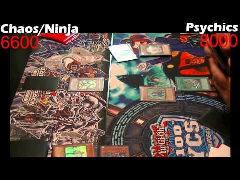 Yugioh Duel: Psychics vs Chaos Ninjas - Round 2