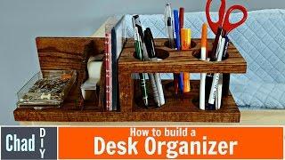 Custom DIY Desk Organizer