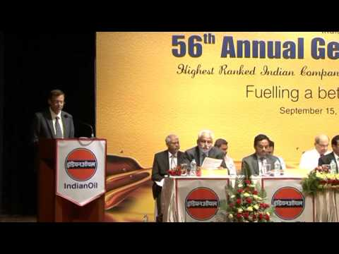 IndianOil's 56th Annual General Meeting - Part 1