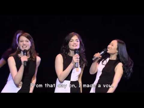 Lucy Hale - Ain't No Mountain High Enough (Lyrics) 720HD