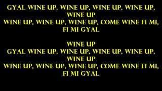 Tommy Lee Sparta - Whine Up Lyrics