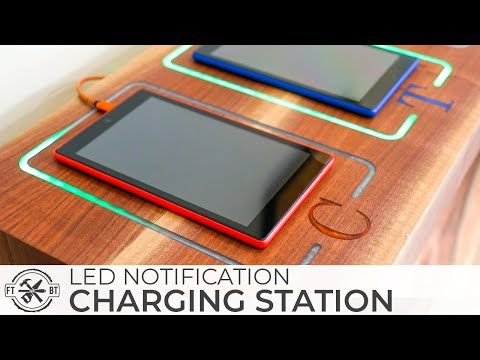 Smart DIY Charging Station with LED Notifications How to Build