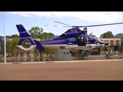 WA Police Polair 62 take off