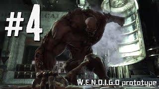 Xmen Origins Wolverine - Walkthrough Part 4 - W.E.N.D.I.G.O Boss Fight