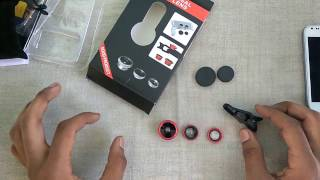 [Hindi] Unboxing of Universal Clip Lens - Review & First Look