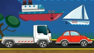 Puzzle transports | Cars for Kids | Videos for Children | Gameplay Android