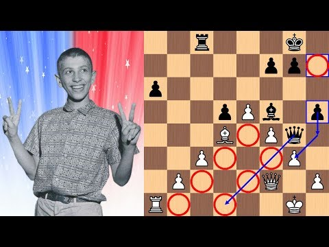 14 year old Bobby Fischer vs Dr. Max Euwe The Unpublished Game 1957