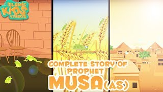 Prophet Stories for Kids | Story of Prophet Musa (AS) | Islamic Kids Stories with Subtitles