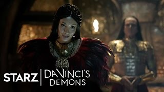 Da Vinci's Demons | Ep. 207 Clip: Entering the Vault | STARZ