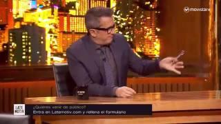 Martin Bossi imita a Messi y Cristiano Ronaldo