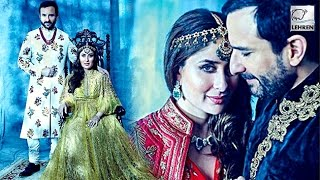 Kareena Kapoor ROYAL Maternity Photoshoot With Saif Ali Khan | LehrenTV
