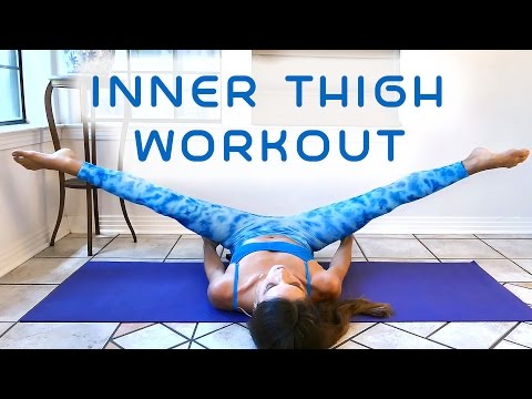 Xxx Mp4 Slim Legs Inner Thighs Workout For Beginners 20 Minute At Home Fitness Thigh Gap Tone Up 3gp Sex