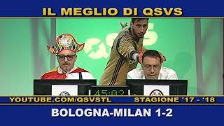 QSVS - I GOL DI BOLOGNA - MILAN 1-2   - TELELOMBARDIA / TOP CALCIO 24