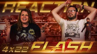 The Flash 4x22 REACTION!!