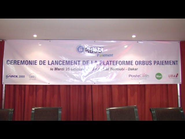 GAINDE 2000 lance ORBUS PAIEMENT