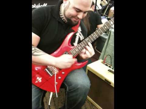Hard Core xxx metal Pedals at guitar show