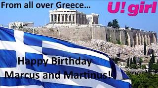 Happy Birthday Marcus and Martinus - U! girl