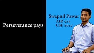 Samanvaya with CD: Swapnil Pawar, AIR 525- CSE 2017