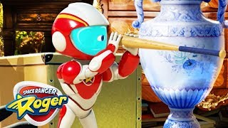 Cartoons for Children | Space Ranger Roger Fun and Games | Compilation | Cartoons for Kids