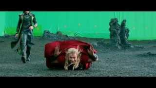 Thor The Dark World Gag Reel - OFFICIAL Marvel | HD