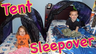 Play Tent Sleepover Inside The Kids