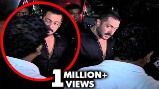 Salman Khan SLAPS Bodyguard At Bharat Screening | All Angry Moments Of Salman In Public