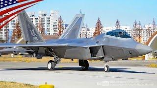 F-22ラプター, F-15イーグル, F-35ライトニングII【米韓演習】