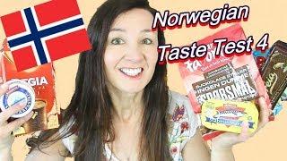 NORWEGIAN Taste Test 4 Holy Mackerel  Nidar and more
