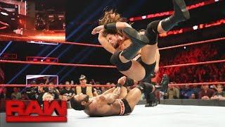 Big Cass vs. Jinder Mahal: Raw, Jan. 9, 2017
