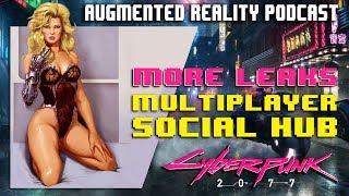 Podcast #27: NEW Cyberpunk 2077 Leaks Oct. 2017: Multiplayer, Social Hub,