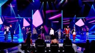 The Finalists sing Chaka Khan's Ain't Nobody - Live Week 3 - The X Factor UK 2012