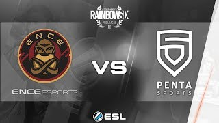 Rainbow Six Pro League - Season 3 - PC - EU - ENCE eSports vs. PENTA Sports - Week 7
