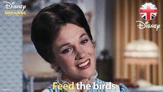 DISNEY SING-ALONGS   Feed The Birds - Mary Poppins Lyric Video   Official Disney UK
