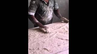 طريقة عمل بلاطة الجبس  How to make gypsum board