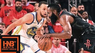Golden State Warriors vs Houston Rockets Full Game Highlights / Game 2 / 2018 NBA Playoffs