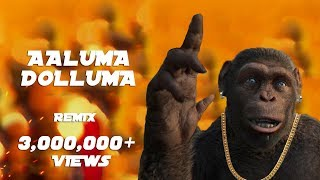 Aaluma Dolluma Vedalam Remix Monkey Version