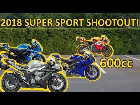 2018 600cc Super Sport Shootout!