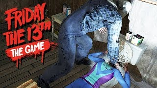 Friday The 13th The Game Gameplay German - Jetzt mit Stimulanzien